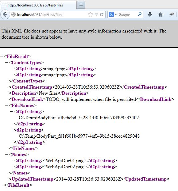 Web API File Upload, Single or Multiple files | Software