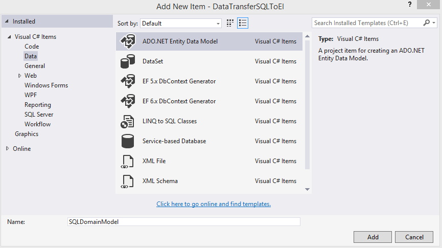 Transferring data to Elasticsearch from MS SQL Server using