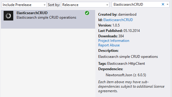 MVC CRUD with Elasticsearch NESTED documents | Software