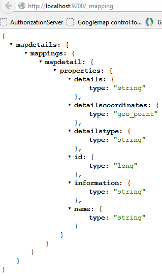 MVC google maps search using Elasticsearch | Software