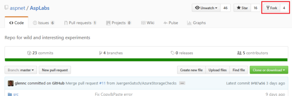 Contributing to OSS projects on gitHub using fork and