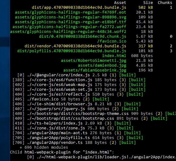 Angular Lazy Loading with Webpack 3