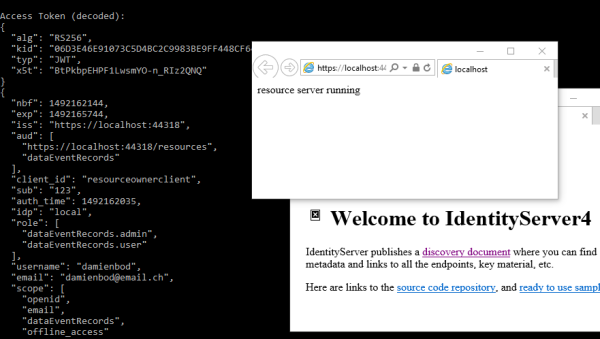 ASP NET Core IdentityServer4 Resource Owner Password Flow