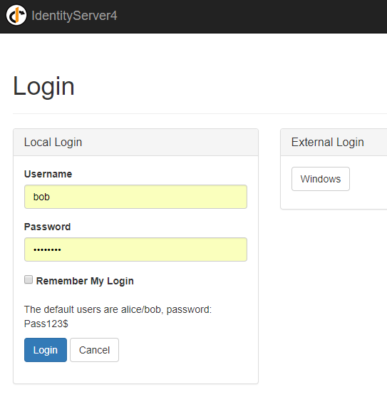 Supporting both Local and Windows Authentication in ASP NET