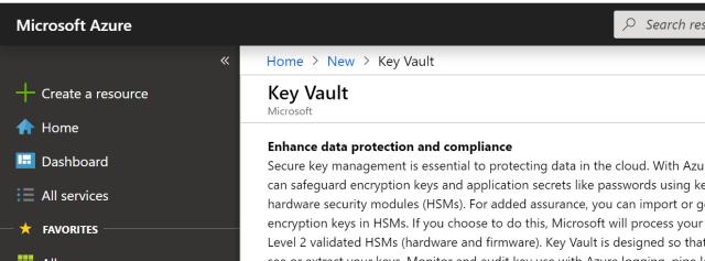 Using Azure Key Vault from a non-Azure App | Software