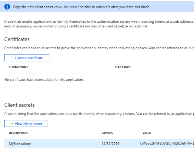 Using Azure Key Vault from a non-Azure App | Software