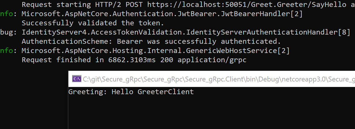 Security Experiments with gRPC and ASP NET Core 3 0 | Software