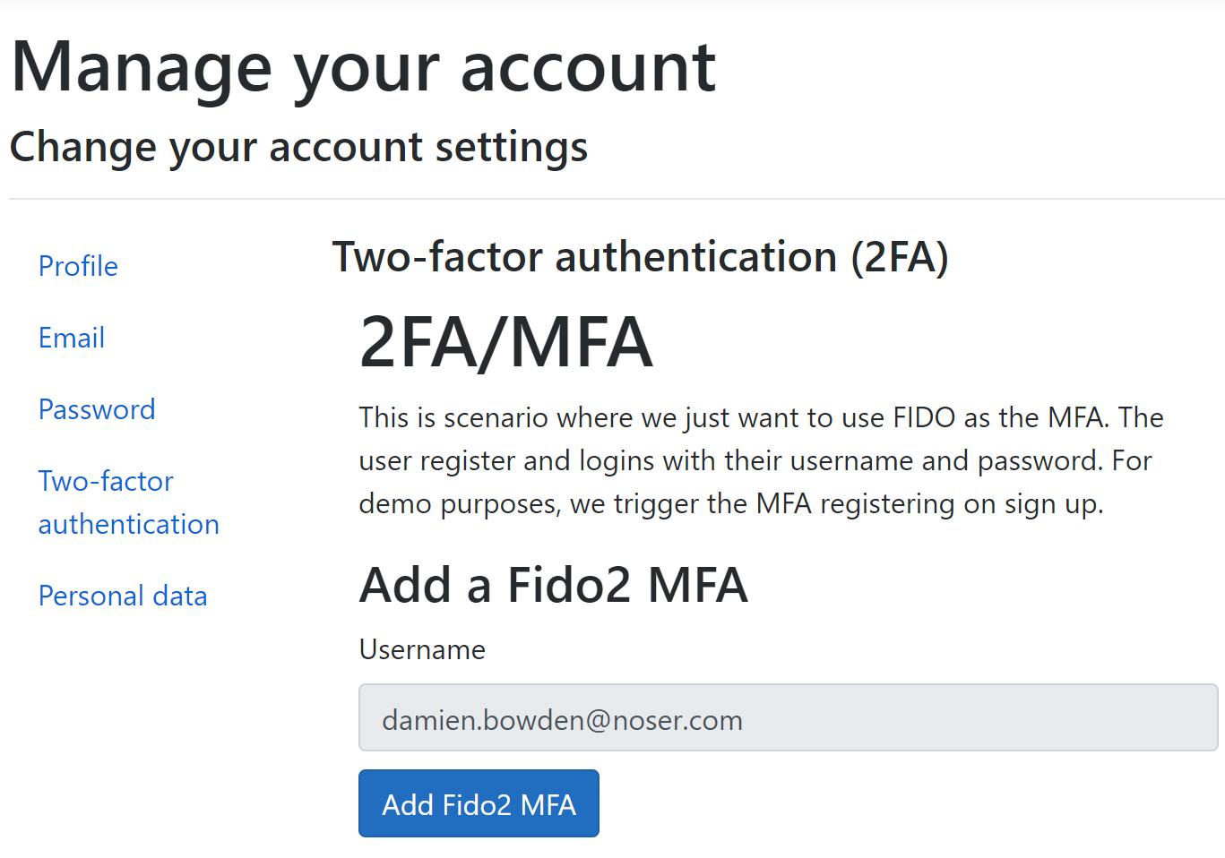 ASP NET Core Identity with Fido2 WebAuthn MFA | Software Engineering