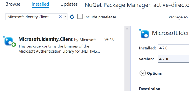 WPF Azure AD signin with Sharepoint Online API call using